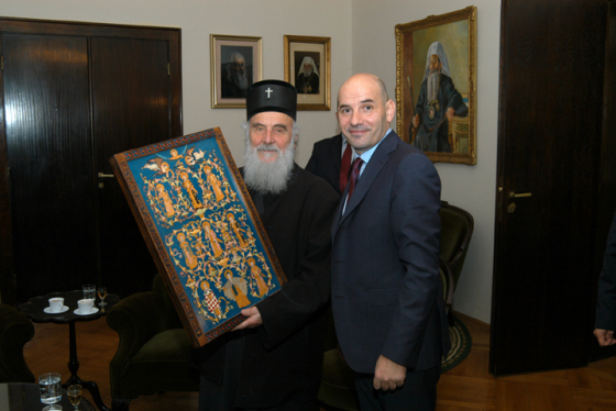 Visiting the Patriarch