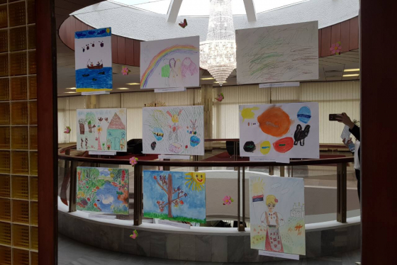 Spring art contest for the children of BIA officers